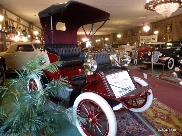 Музей старинных автомобилей в Кэйнтоне