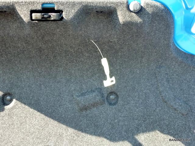 Мустанг 2011 багажник