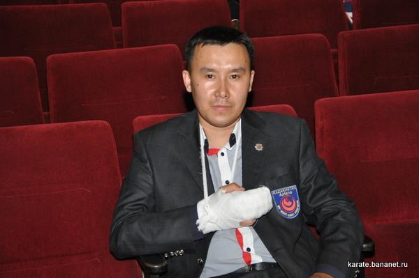 Астана Шинкиокушинкай каратэ